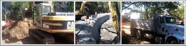 Excavating pacifica Hillside Repair in pacifica Demolition retaining walls